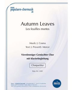 Autumn Leaves - Les feuilles mortes