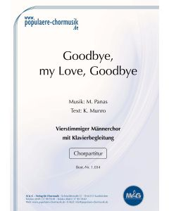 Goodbye, My Love, Goodbye