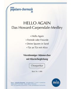 Hello Again - Das Howard Carpendale-Hit-Medley