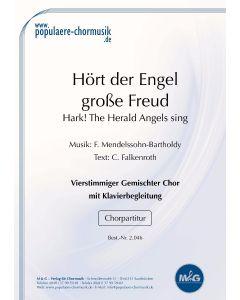 Hört der Engel große Freud'