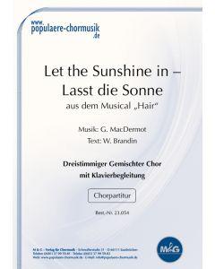 Lasst den Sonnenschein - Let The Sunshine In