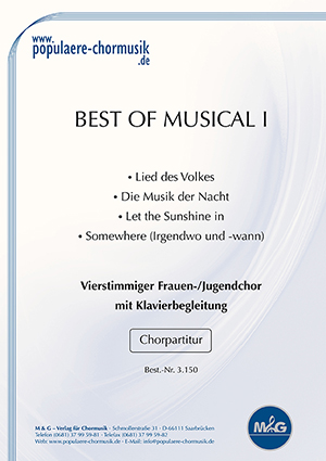 Titelblatt best of musical 1