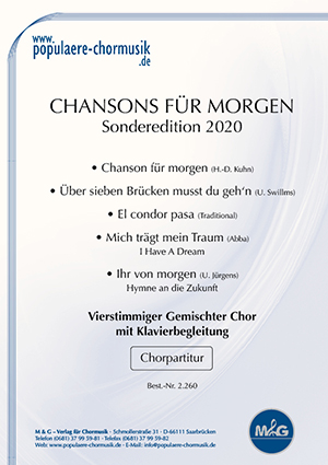 Titelblatt Chansons für morgen