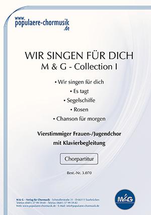 Titelblatt Wir singen fuer dich